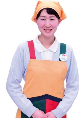 サービス部門チーフ 入社7年 藤井成美さん