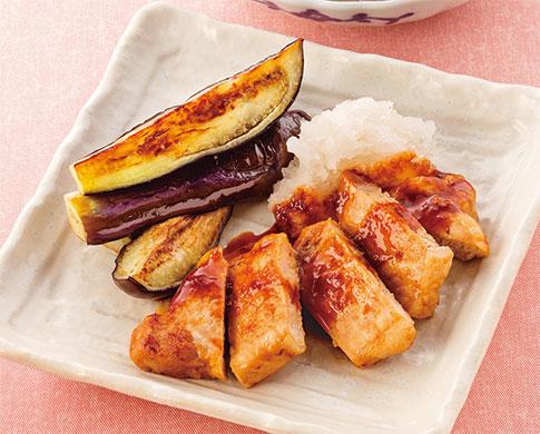 厚切り豚肉のしょうが焼き おろし添え