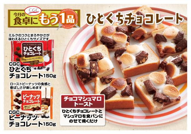 201803CGC今月一品【菓子】ひとくちチョコレート