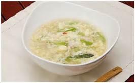 カニと卵のスープ