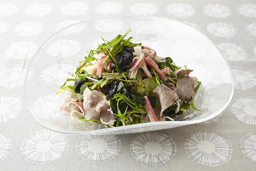 焼き野菜と豚肉のカレー