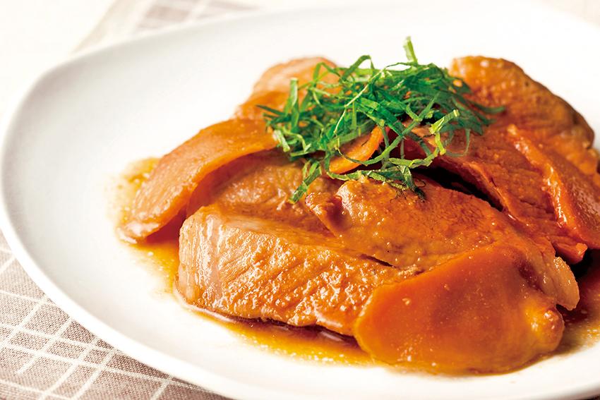 豚ロースの味噌煮