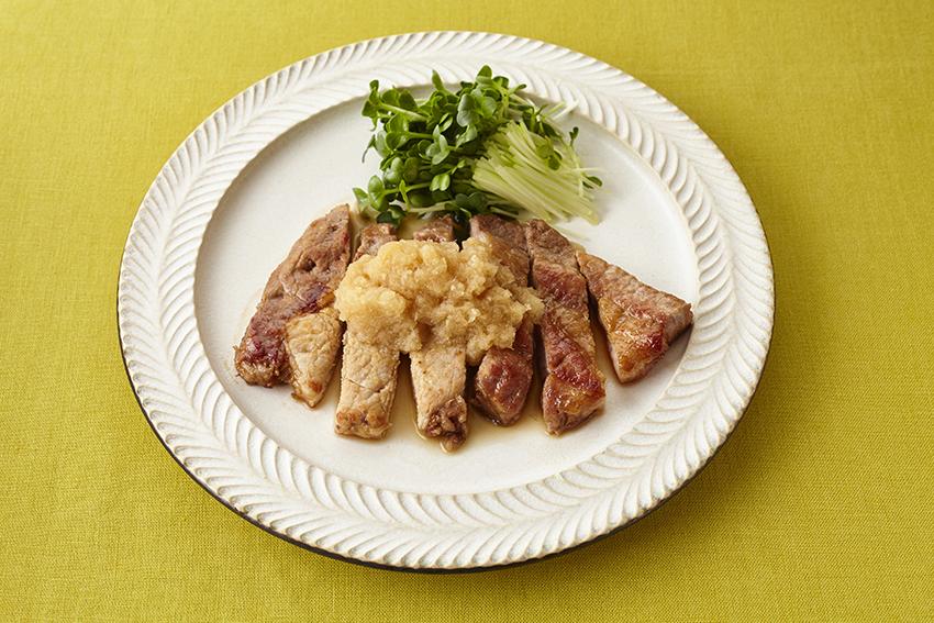 豚肉の生姜焼き 大根おろし添え
