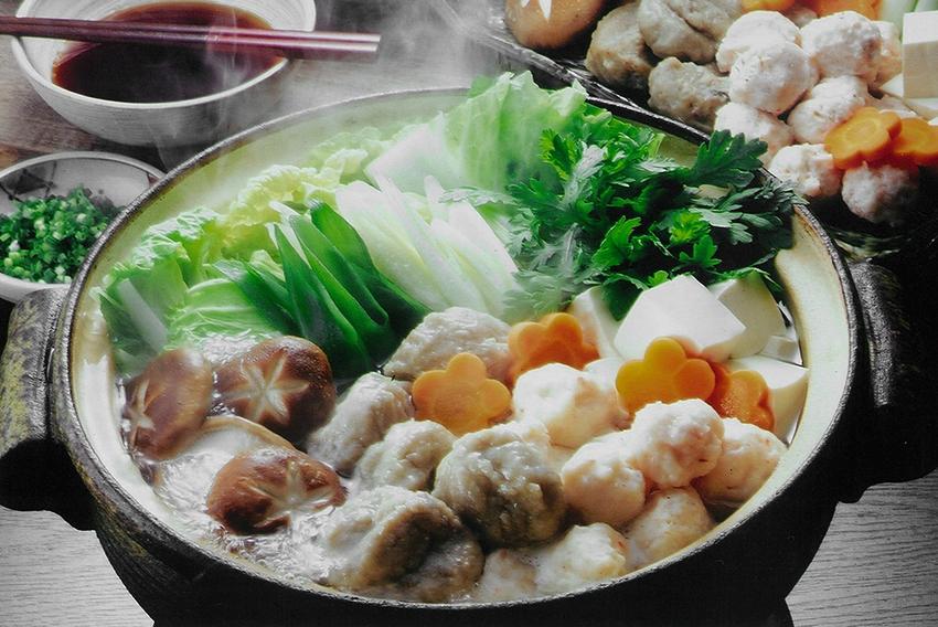 「かおりの蔵」で食べる、いわしのつみれ鍋