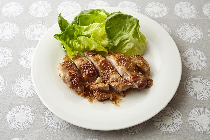 鶏もも肉のスタミナ焼き