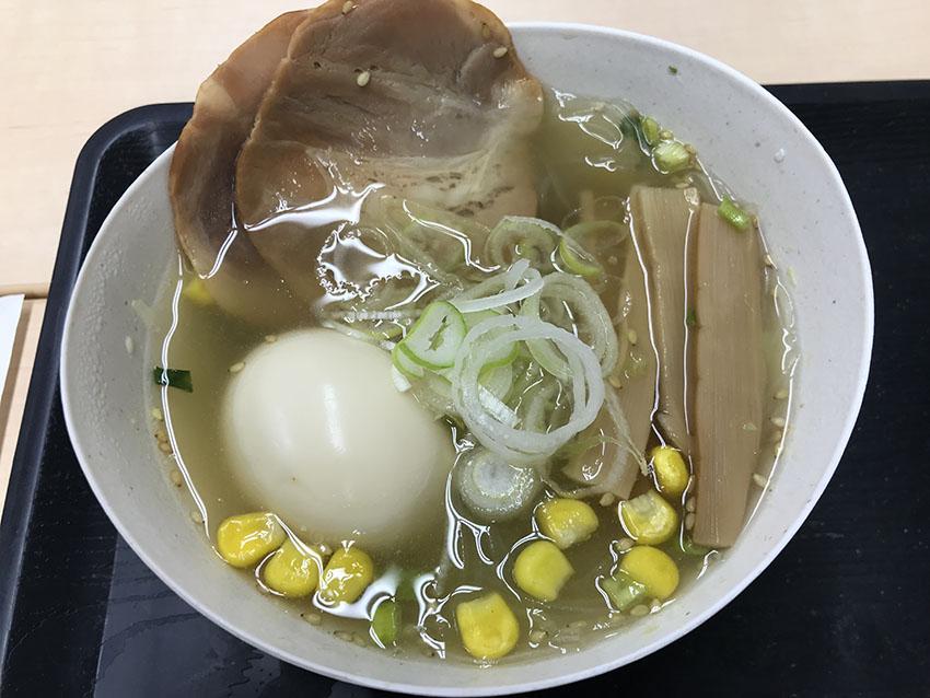 スープはるさめのラーメン風