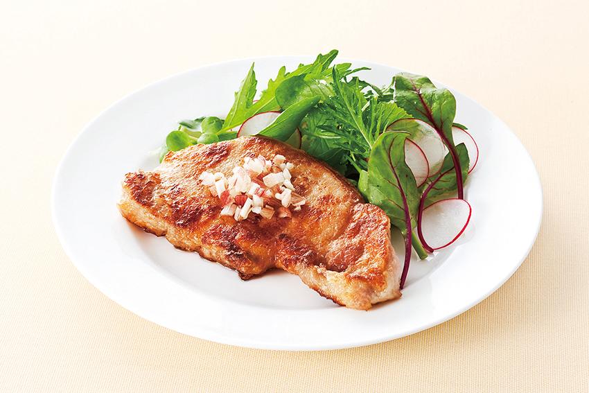 豚ロース肉のカリカリ焼き