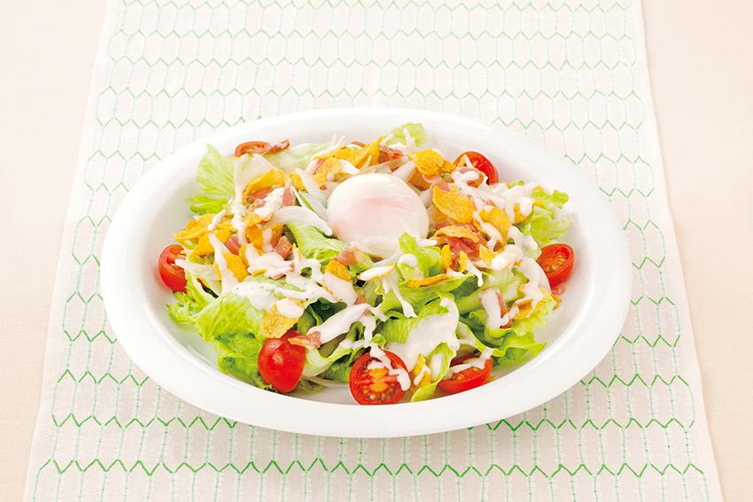 シャキシャキレタスのシーザーサラダ