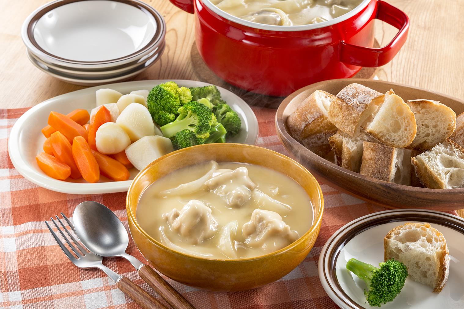 チーズフォンデュシチュー