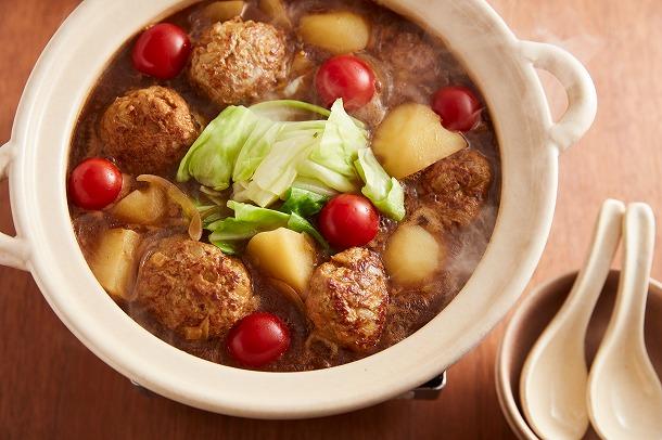 07_肉だんごのカレー鍋