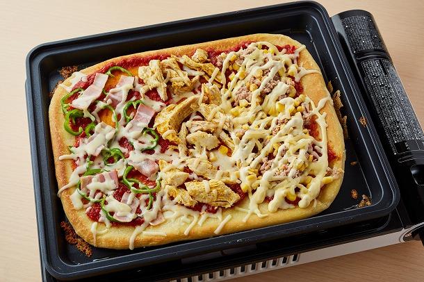28_ホットプレートピザ