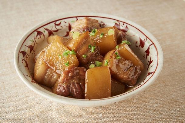 11_大根と豚バラ肉の照り煮